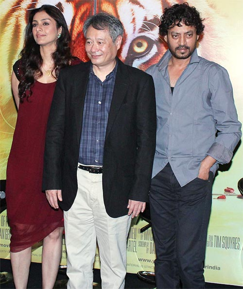 Tabu, Ang Lee and Irrfan Khan