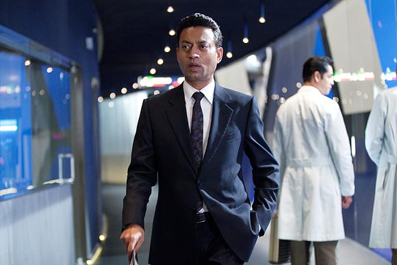 Irrfan Khan in The Amazing Spiderman