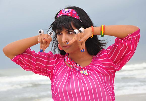 Radhika Pandit seems set to scare her relatives. Are you?