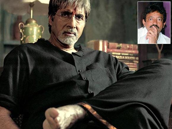Amitabh Bachchan in Sarkar. Inset: Ram Gopal Varma