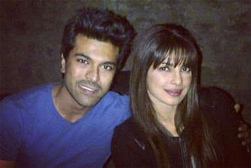 Ram Charan Tej and Priyanka Chopra