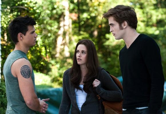 A scene from The Twilight Saga: New Moon