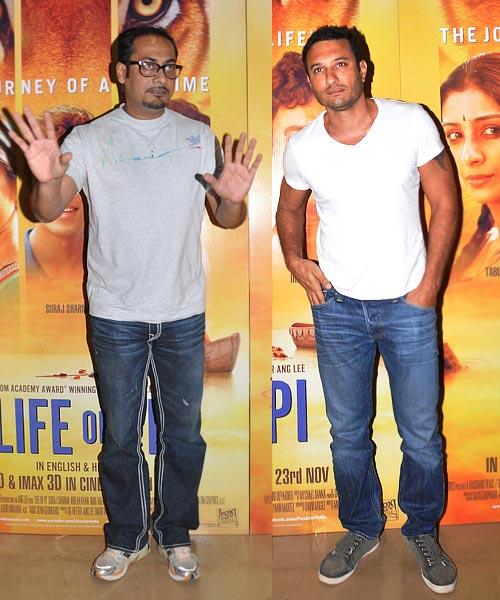 Abhinav Kashyap and Homi Adajania