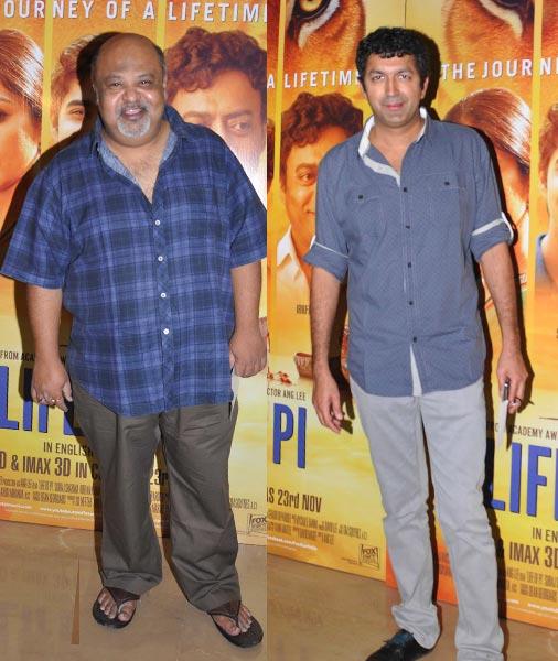 Saurabh Shukla and Kunal Kohli