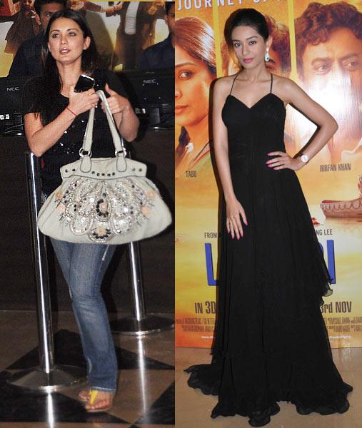 Minissha Lamba and Amrita Rao