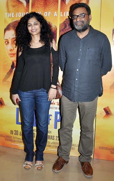 Gauri Shinde and R Balki