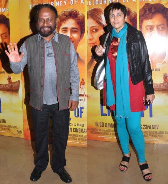 Deepa Sahi and Ketan Mehta