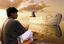 A scene fro Life Of Pi