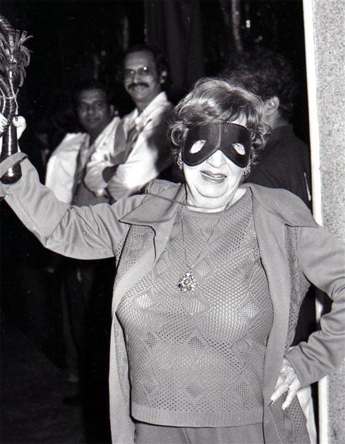 Fearless Nadia aka Mary Ann Evans