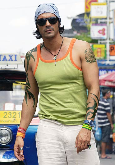 Arjun Rampal in Ek Ajnabee