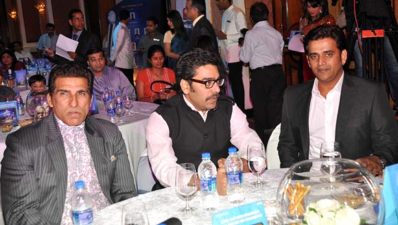 Mukesh Rishi, Ashutosh Rana and Ravi Kissen