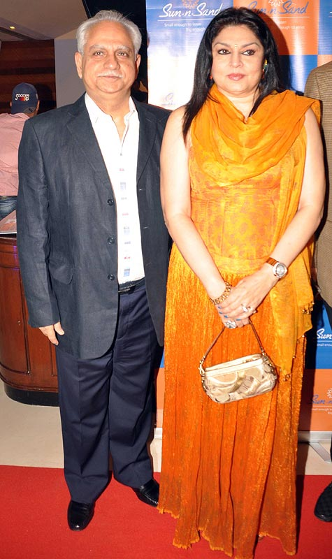 Ramesh Sippy and Kiran Juneja