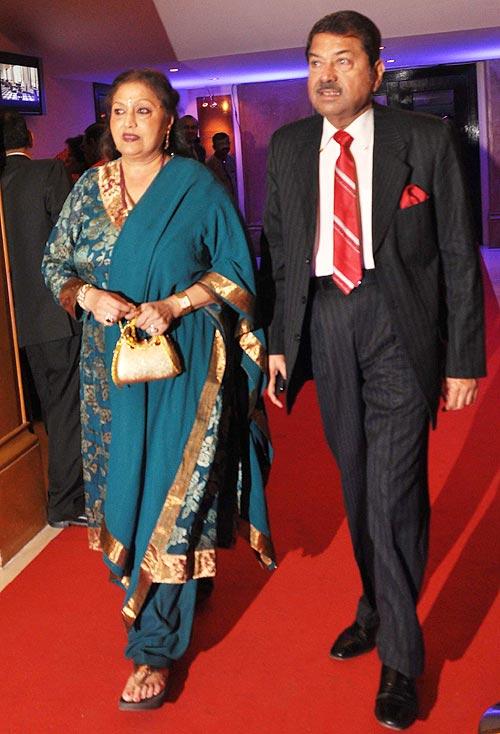 Bindu and Champaklal Zaveri