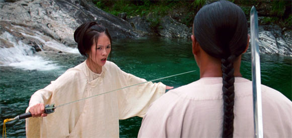 A scene from Crouching Tiger, Hidden Dragon