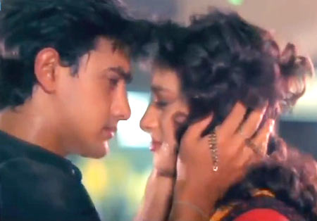 A scene from Dil