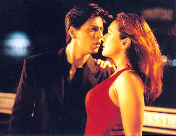 Shah Rukh Khan and Preity Zinta in Kal Ho Na Ho