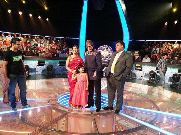 Sakshi Tanwar, Amreeta Mukherjee, Amitabh Bachchan and Ram Kapoor