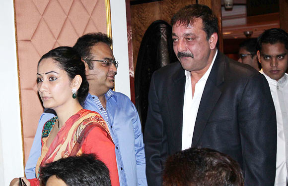 Sanjay Dutt and Maanyata
