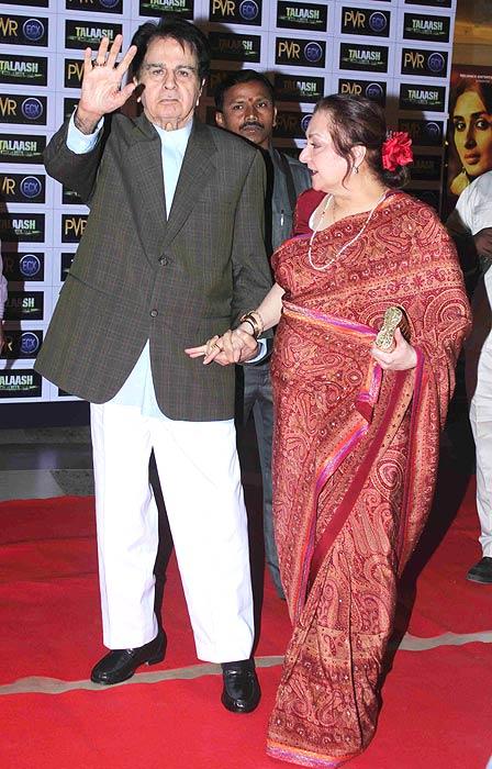 Dilip Kumar and Saira Bano