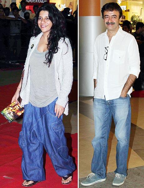 Zoya Akhtar and Rajkumar Hirani
