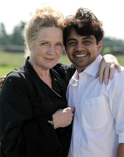 Liv Ullmann and Dheeraj Akolkar
