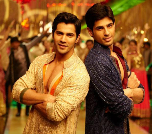 Varun Dhawan and Siddharth Malhotra in Student Of The Year
