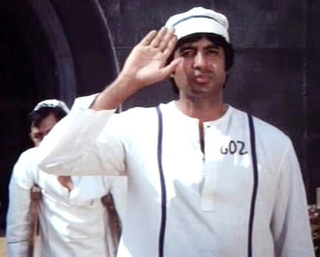 Amitabh Bachchan in Kaalia