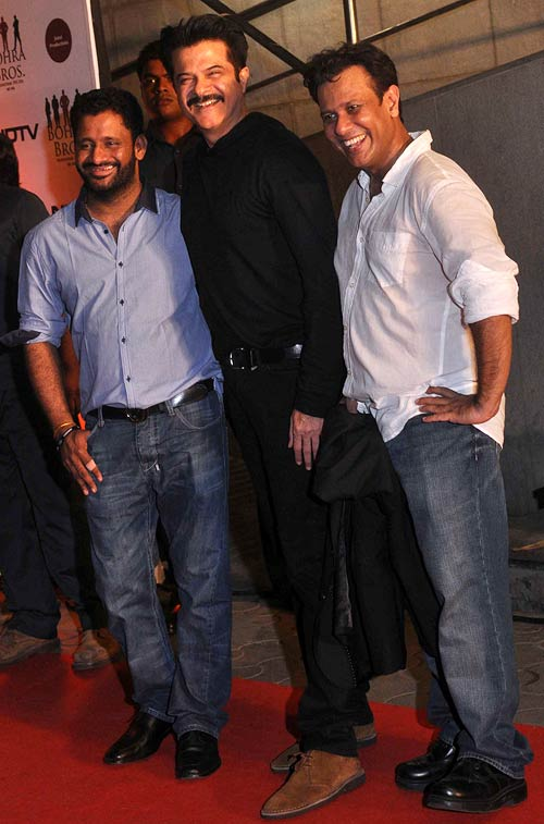 Resul Pookutty, Anil Kapoor and Bedabrata Pain
