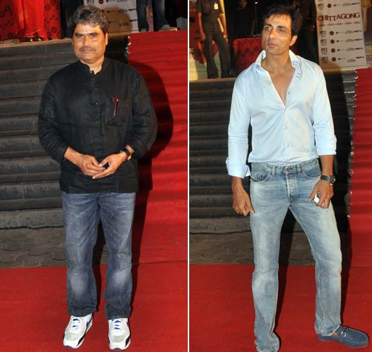 Vishal Bhradwaj and Sonu Sood