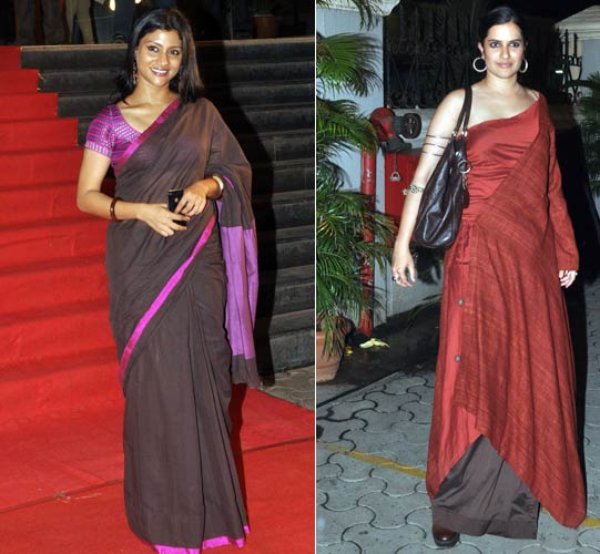 Konkana Sen Sharma and Sona Mahapatra