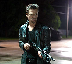 A scene from Killing Them Softly