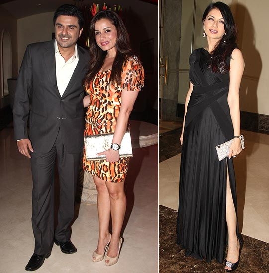 Sameer Soni, Neelam Kothari and Bhagyashree