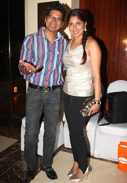 Shaan and Radhika Mukherjee