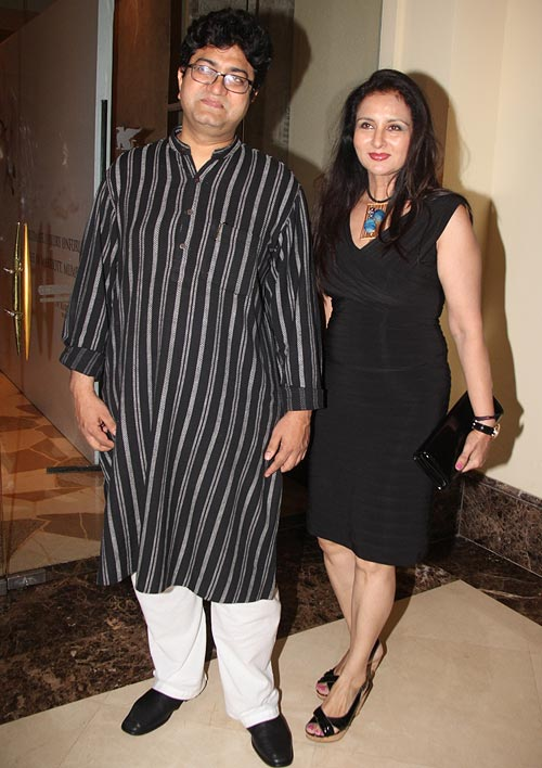 Prasoon Joshi and Poonam Dhillon
