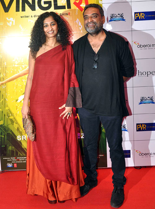 Gauri Shinde and R Balki