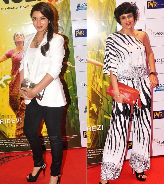Tisca Chopra and Mandira Bedi