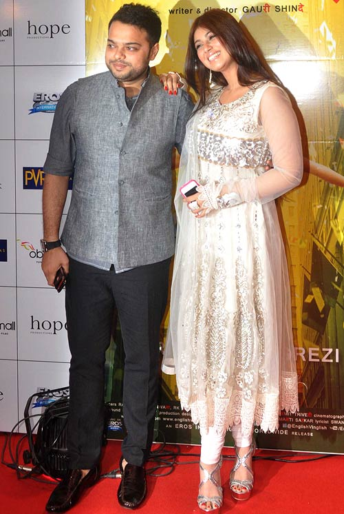 Farhan Azmi and Ayesha Takia