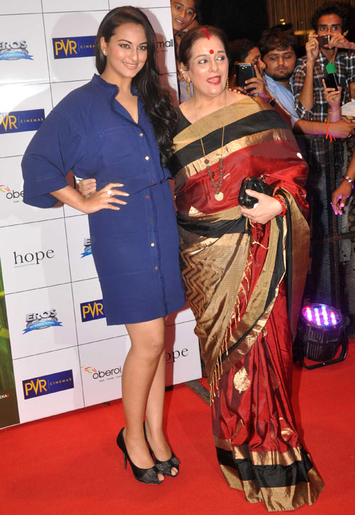 Sonakshi and Poonam Sinha