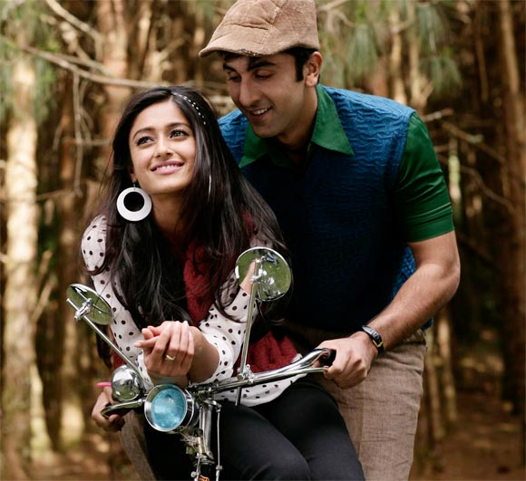 A scene from Barfi!