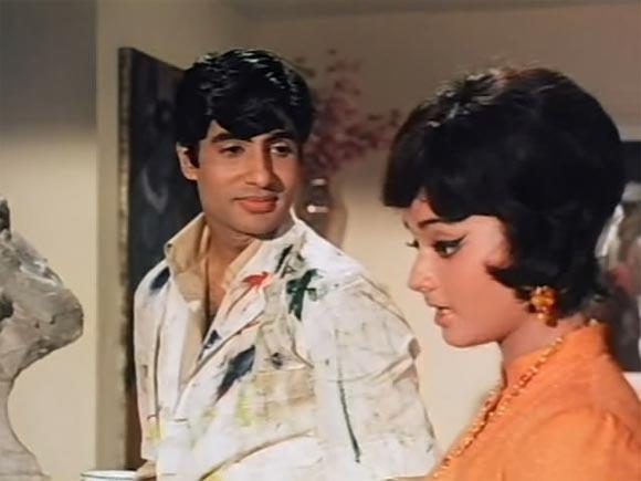 A scene from Parwana