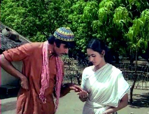 A scene from Saudagar