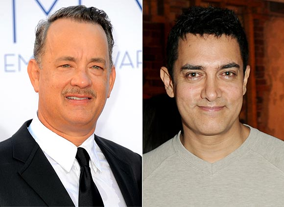 Tom Hanks and Aamir Khan
