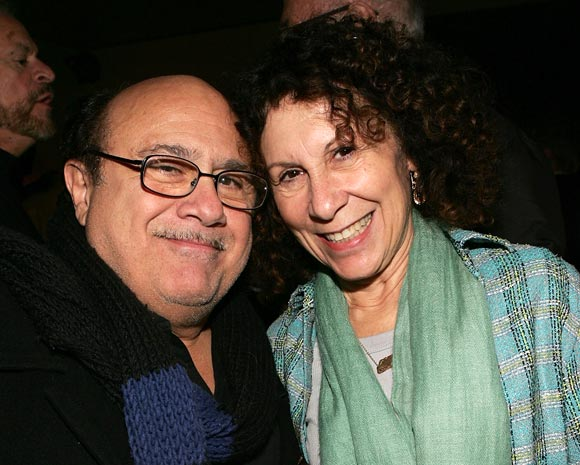 Danny DeVito and Rhea Pearlman
