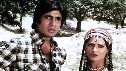 Amitabh Bachchan and Rekha in Mr Natwarlal