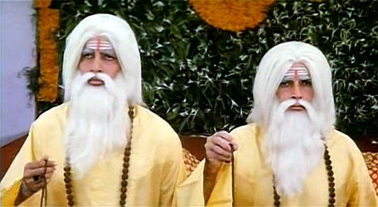 Amitabh Bachchan and Shashi Kapoor in Shaan