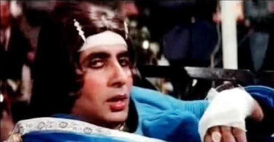 Amitabh Bachchan in Laawaris