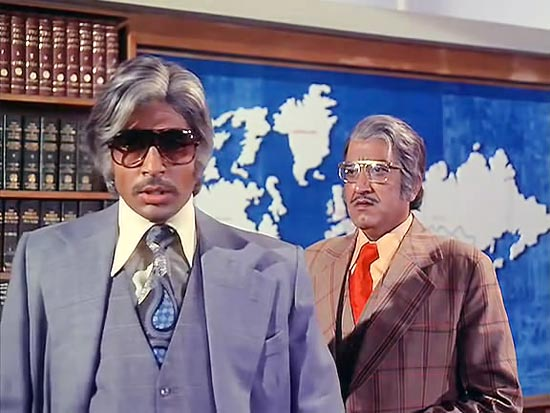 Amitabh Bachchan in Adalat