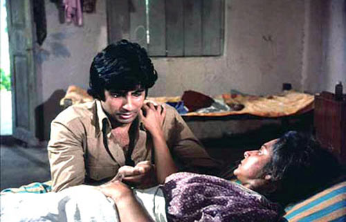 Amitabh Bachchan and Waheeda Rahman in Trishul