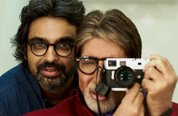 Avinash Gowariker and Amitabh Bachchan