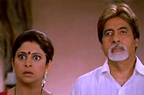 Shefali Shah and Amitabh Bachchan in Waqt: The Race Against Time